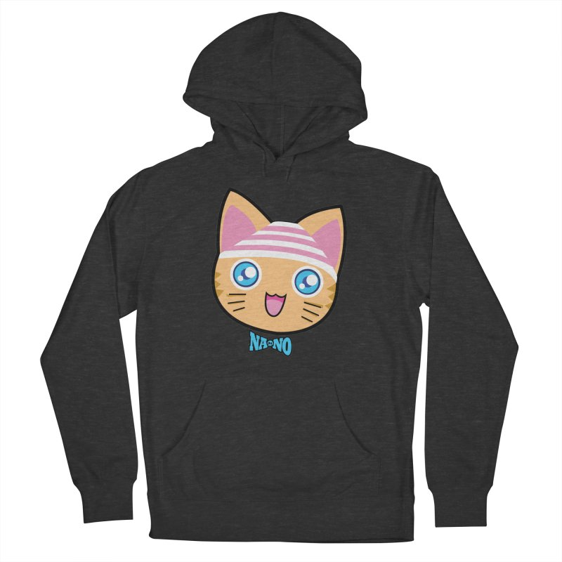 Pantsu Cat Men's French Terry Pullover Hoody by [NANO]'s Tienda