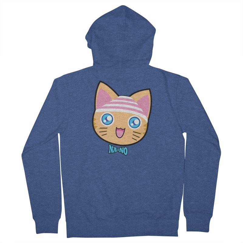 Pantsu Cat Men's Zip-Up Hoody by [NANO]'s Tienda