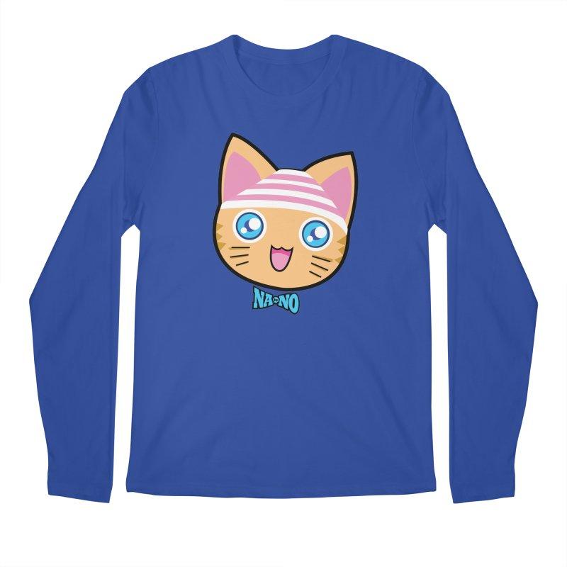 Pantsu Cat Men's Longsleeve T-Shirt by [NANO]'s Tienda