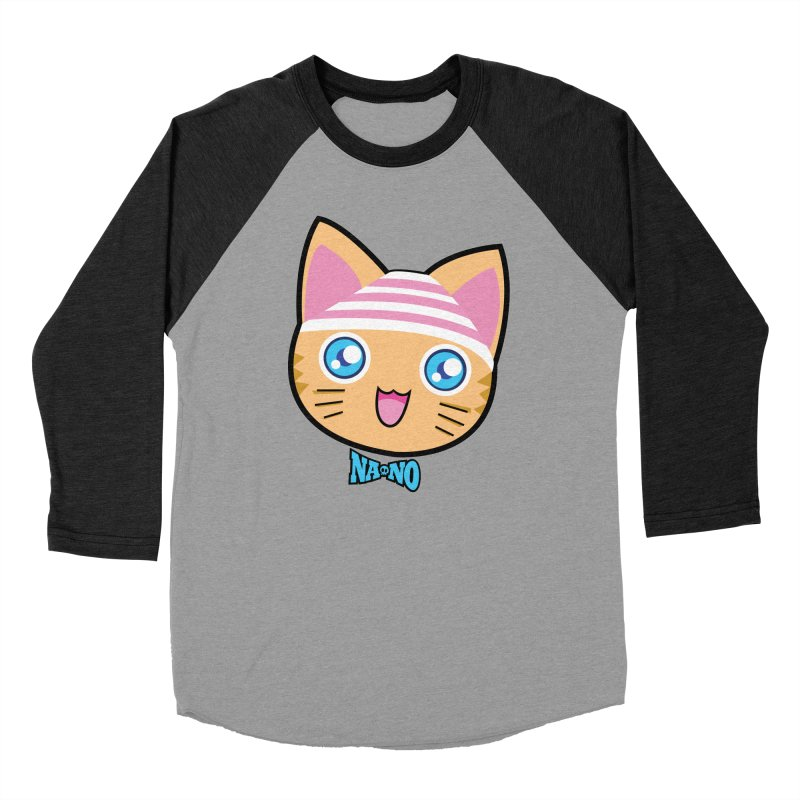 Pantsu Cat Women's Baseball Triblend T-Shirt by [NANO]'s Tienda