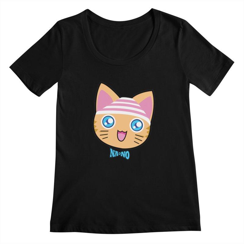 Pantsu Cat Women's Scoopneck by [NANO]'s Tienda