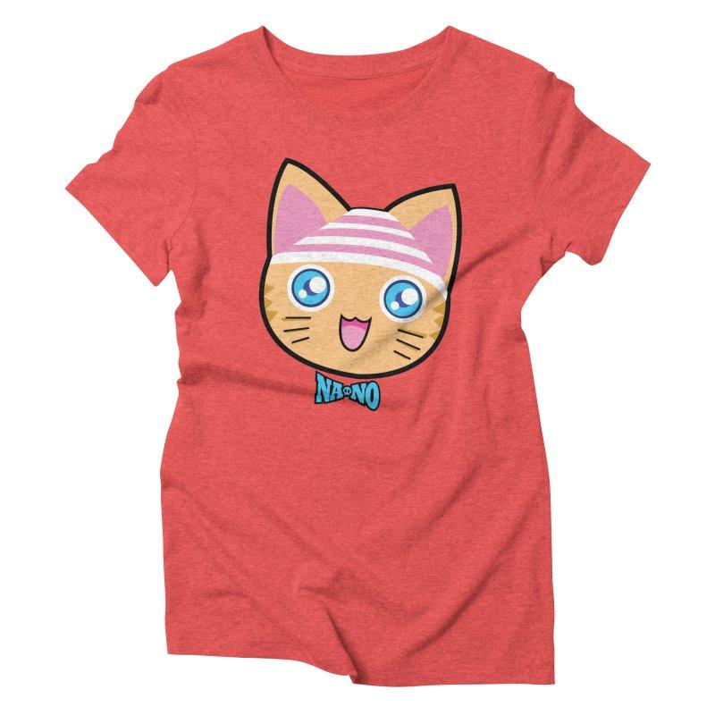 Pantsu Cat Women's Triblend T-Shirt by [NANO]'s Tienda