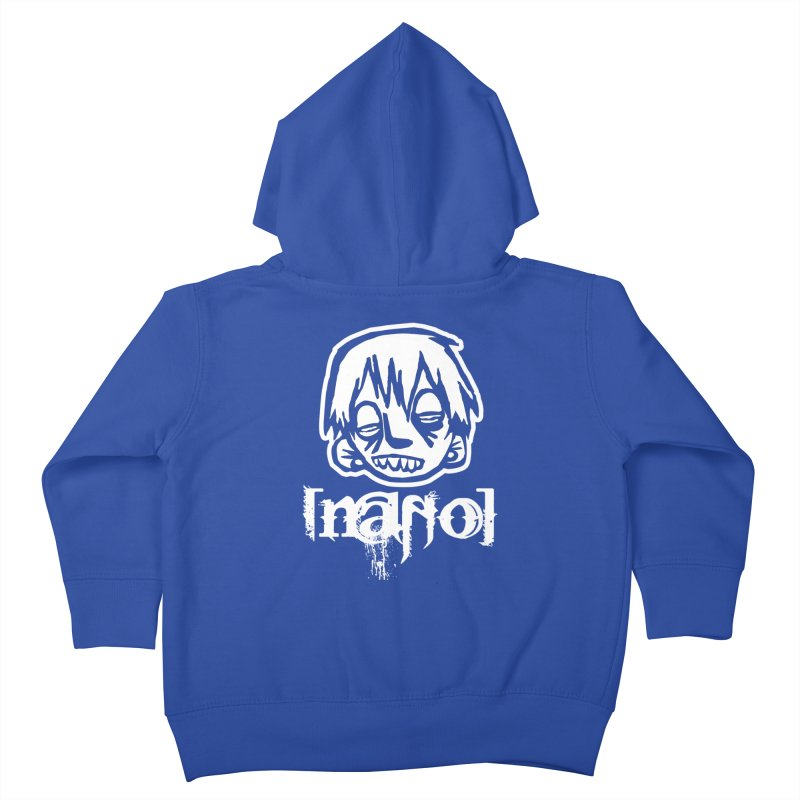 O.G. Big Head LOGO Kids Toddler Zip-Up Hoody by [NANO]'s Tienda