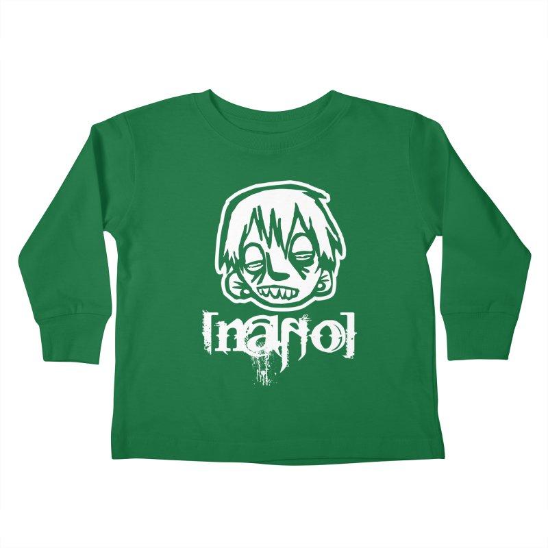 O.G. Big Head LOGO Kids Toddler Longsleeve T-Shirt by [NANO]'s Tienda