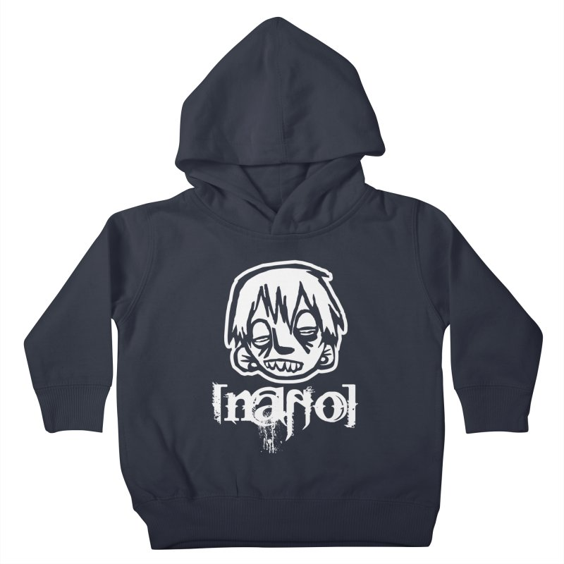 O.G. Big Head LOGO Kids Toddler Pullover Hoody by [NANO]'s Tienda