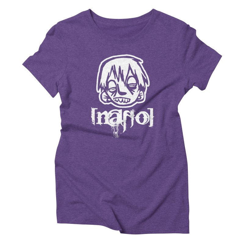 O.G. Big Head LOGO Women's Triblend T-Shirt by [NANO]'s Tienda