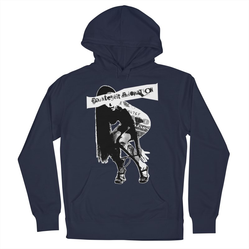 Counterfeit Adoration Men's French Terry Pullover Hoody by [NANO]'s Tienda
