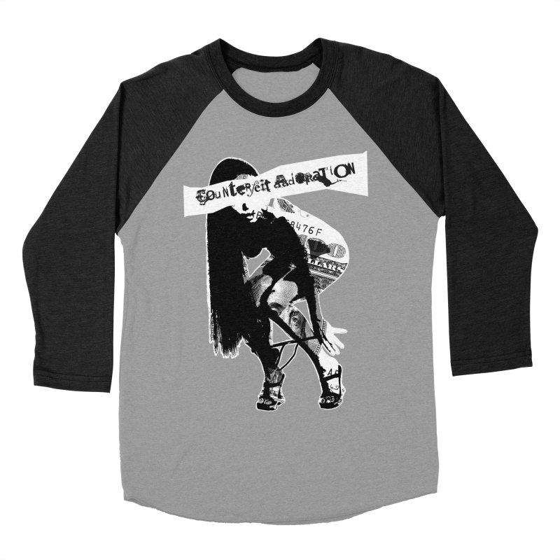Counterfeit Adoration Women's Baseball Triblend T-Shirt by [NANO]'s Tienda