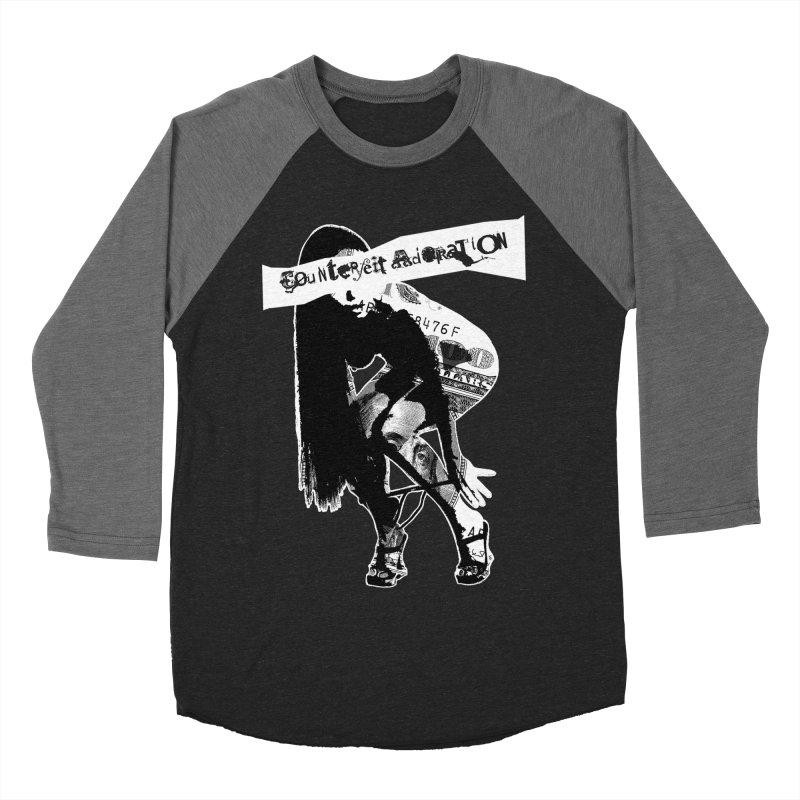 Counterfeit Adoration Men's Baseball Triblend T-Shirt by [NANO]'s Tienda