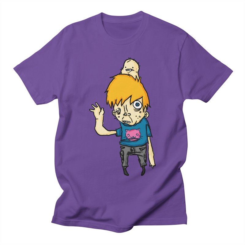 bye to the haters Men's Regular T-Shirt by [NANO]'s Tienda