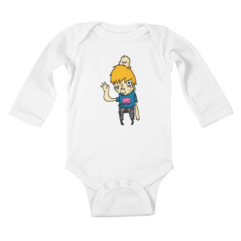 bye to the haters Kids Baby Longsleeve Bodysuit by [NANO]'s Tienda