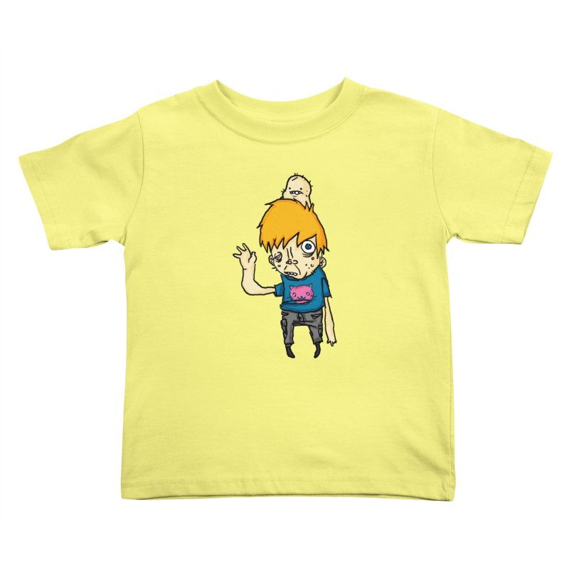 bye to the haters Kids Toddler T-Shirt by [NANO]'s Tienda
