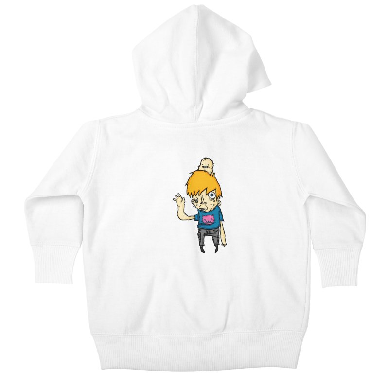 bye to the haters Kids Baby Zip-Up Hoody by [NANO]'s Tienda