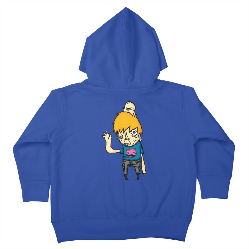 bye to the haters Kids Toddler Zip-Up Hoody by [NANO]'s Tienda