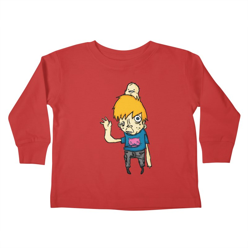 bye to the haters Kids Toddler Longsleeve T-Shirt by [NANO]'s Tienda