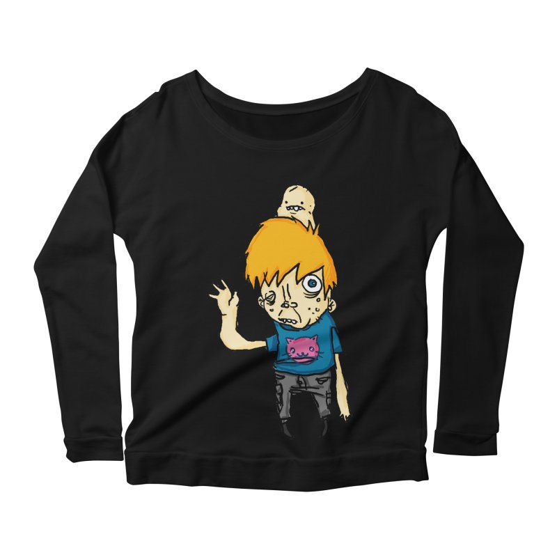 bye to the haters Women's Scoop Neck Longsleeve T-Shirt by [NANO]'s Tienda