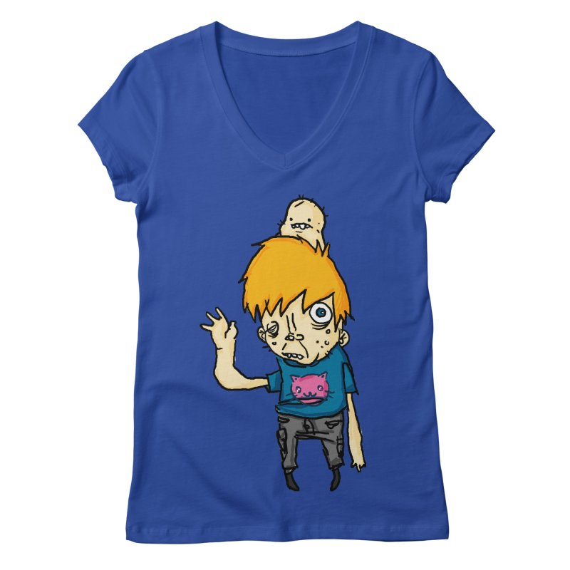 bye to the haters Women's V-Neck by [NANO]'s Tienda