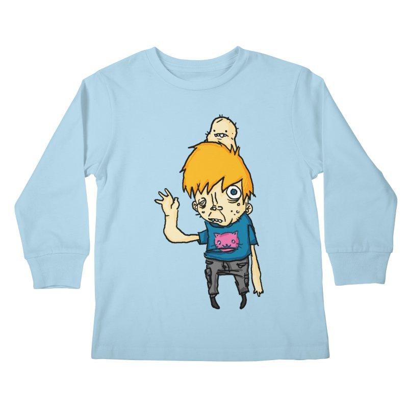bye to the haters Kids Longsleeve T-Shirt by [NANO]'s Tienda