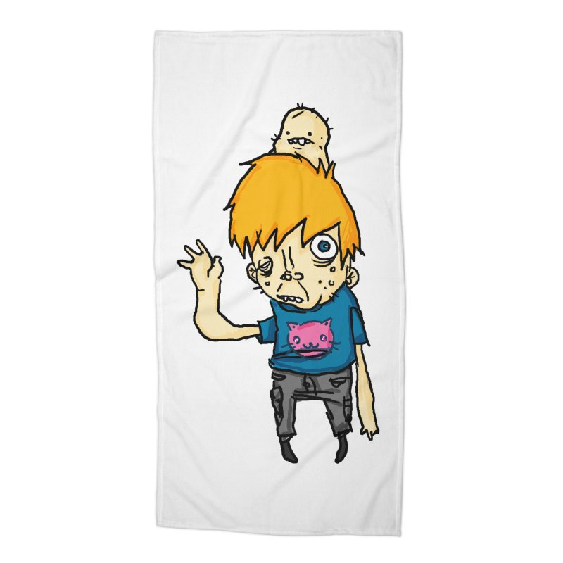 bye to the haters Accessories Beach Towel by [NANO]'s Tienda