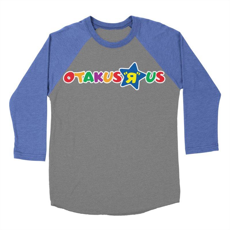 Otakus Я Us Men's Baseball Triblend T-Shirt by [NANO]'s Tienda