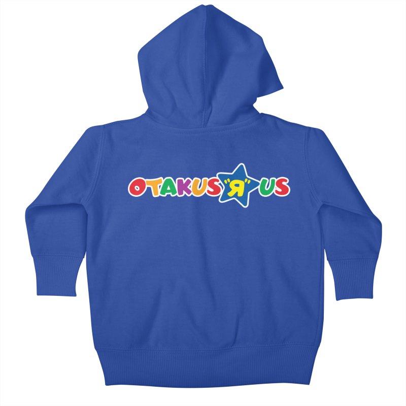 Otakus Я Us Kids Baby Zip-Up Hoody by [NANO]'s Tienda