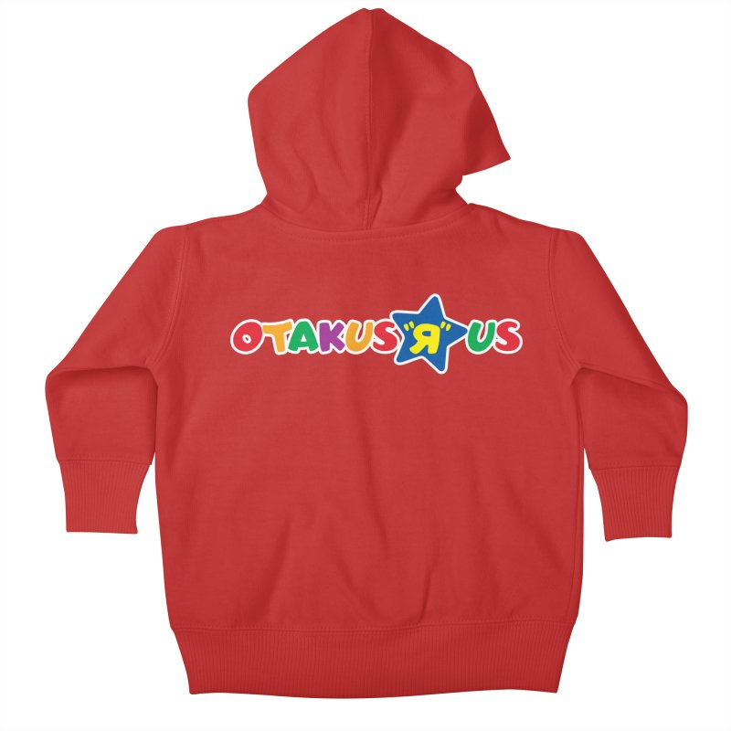 Otakus Я Us Kids Baby Zip-Up Hoody by [NANO]'s Tienda
