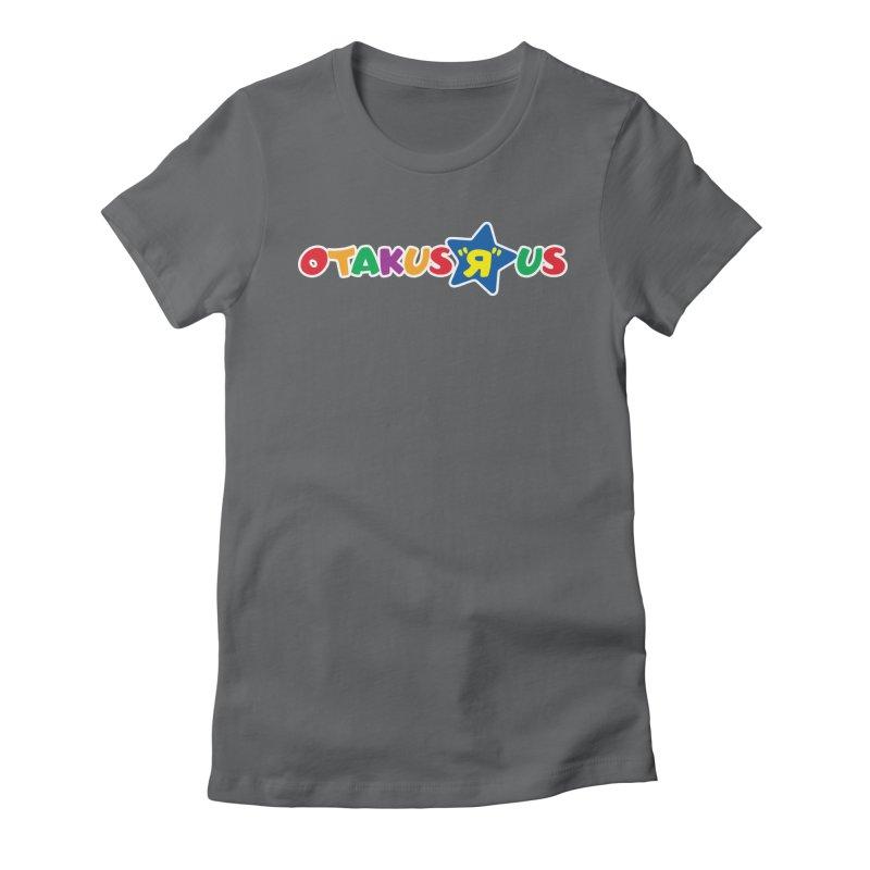 Otakus Я Us Women's Fitted T-Shirt by [NANO]'s Tienda