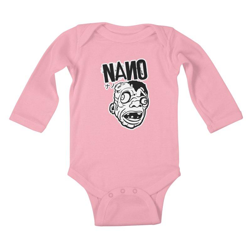 DAT SEXY FACE Kids Baby Longsleeve Bodysuit by [NANO]'s Tienda