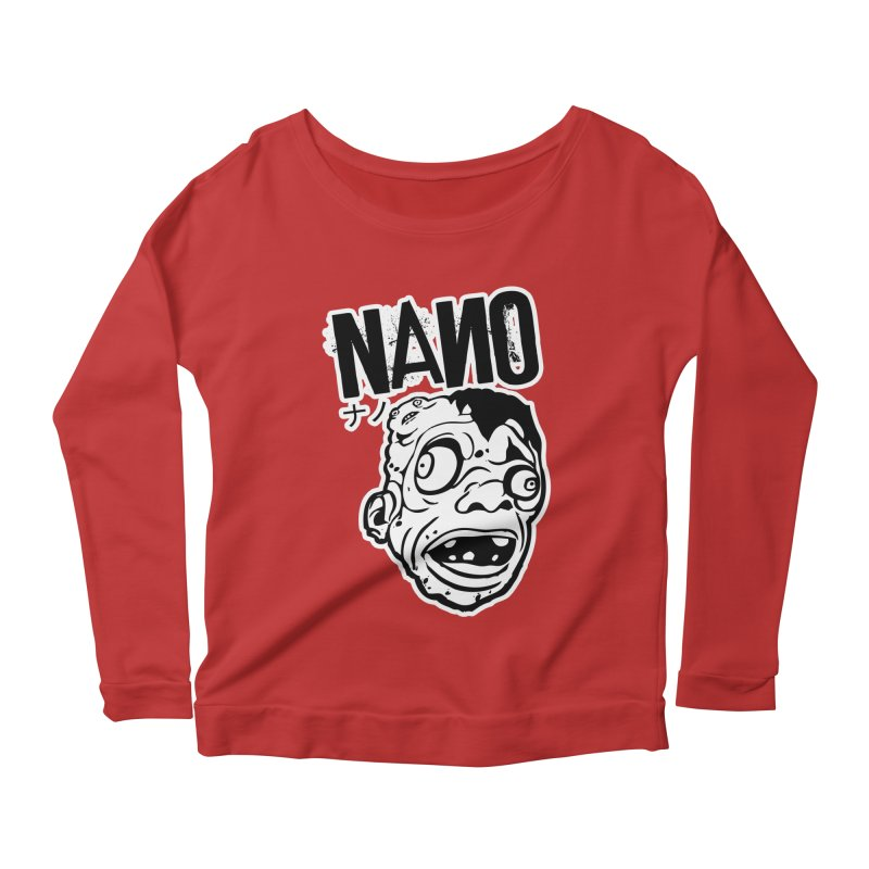 DAT SEXY FACE Women's Scoop Neck Longsleeve T-Shirt by [NANO]'s Tienda