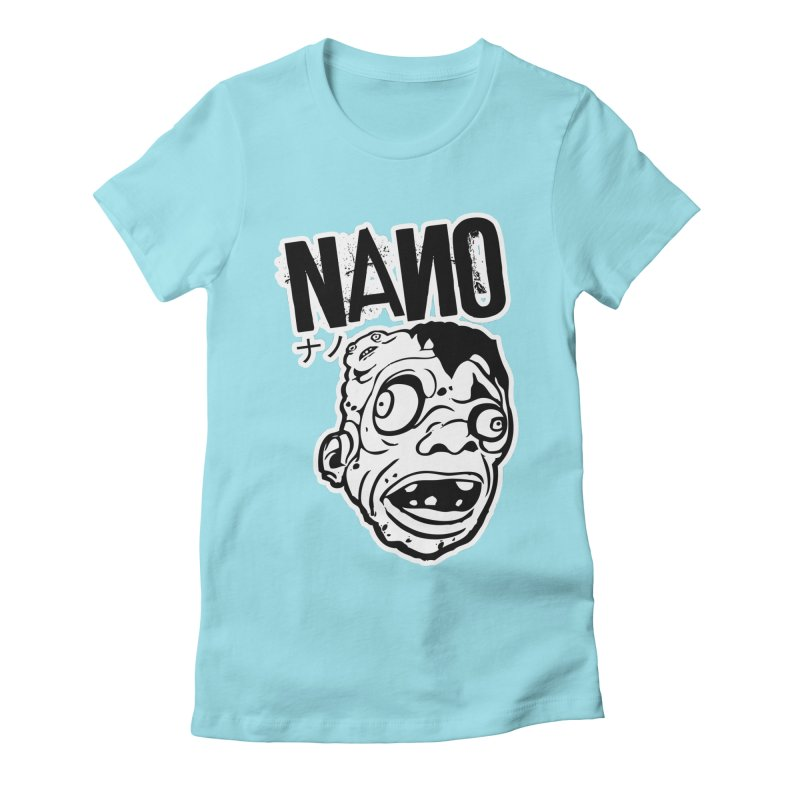 DAT SEXY FACE Women's Fitted T-Shirt by [NANO]'s Tienda