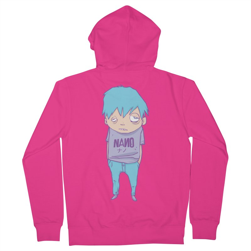 unimpressed and unbothered Men's Zip-Up Hoody by [NANO]'s Tienda