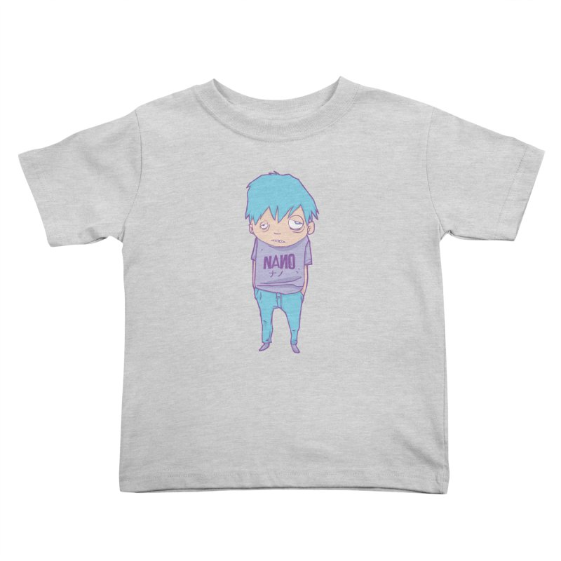 unimpressed and unbothered Kids Toddler T-Shirt by [NANO]'s Tienda