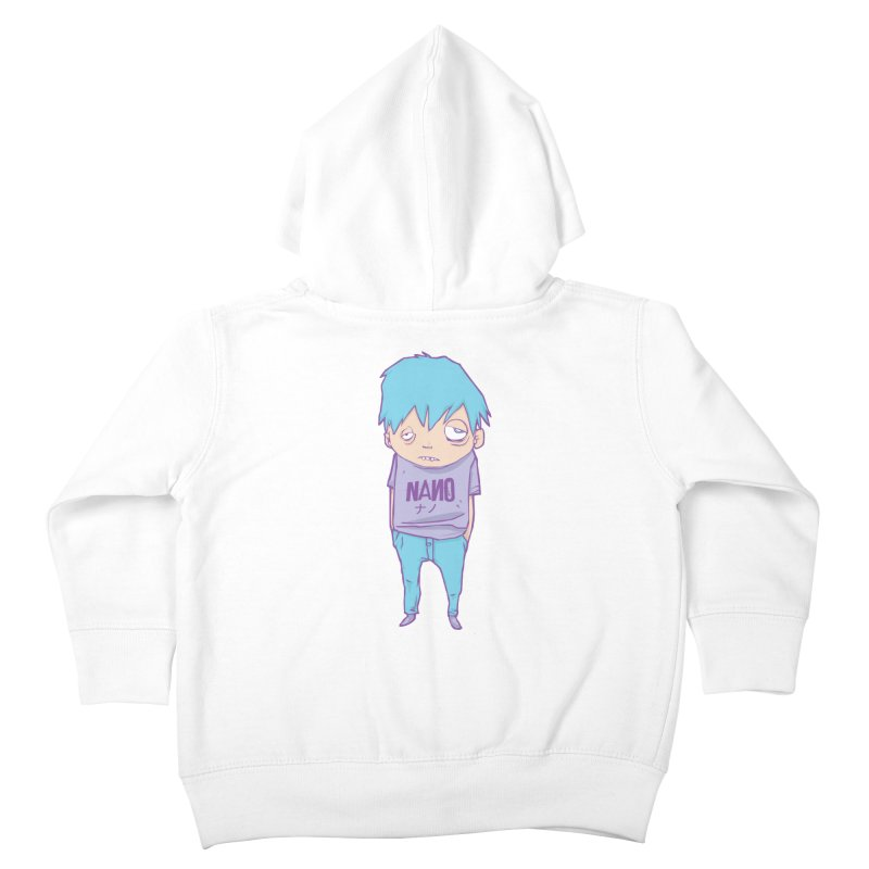 unimpressed and unbothered Kids Toddler Zip-Up Hoody by [NANO]'s Tienda
