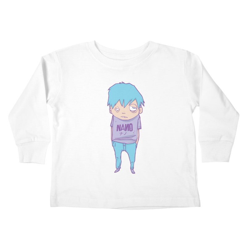 unimpressed and unbothered Kids Toddler Longsleeve T-Shirt by [NANO]'s Tienda