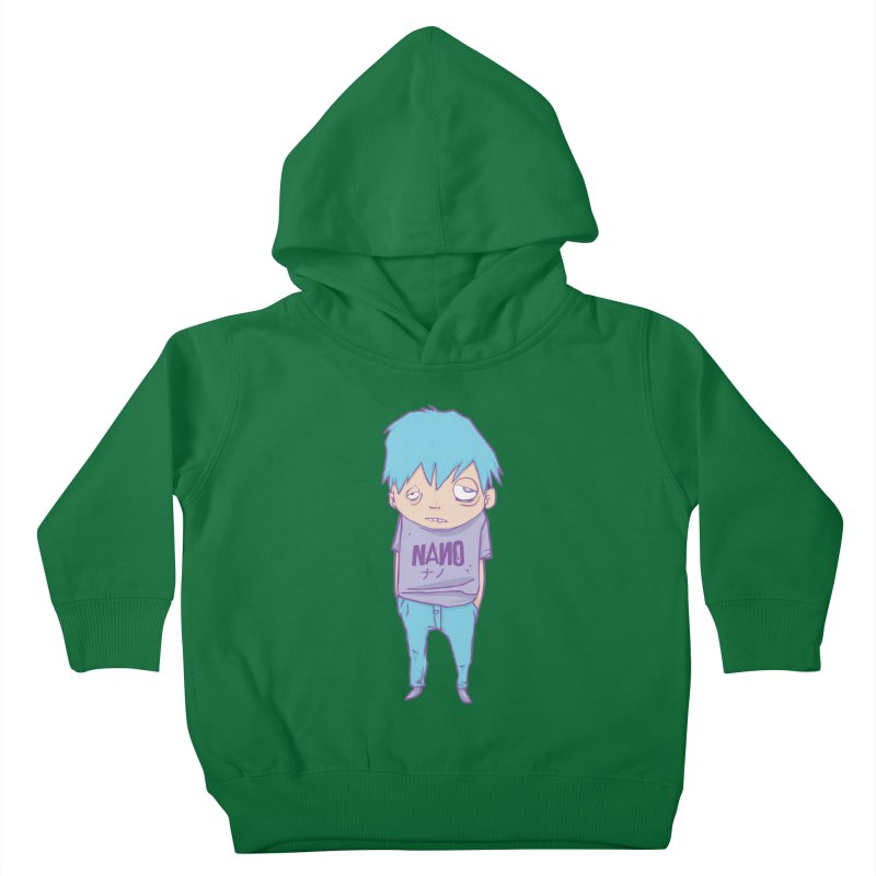 unimpressed and unbothered Kids Toddler Pullover Hoody by [NANO]'s Tienda