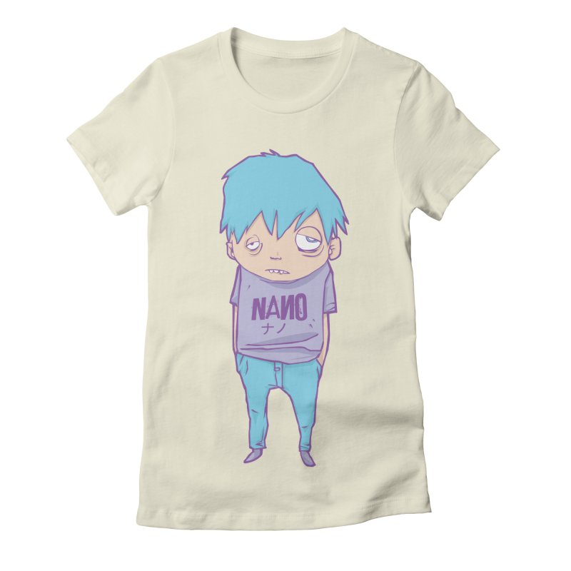 unimpressed and unbothered Women's Fitted T-Shirt by [NANO]'s Tienda