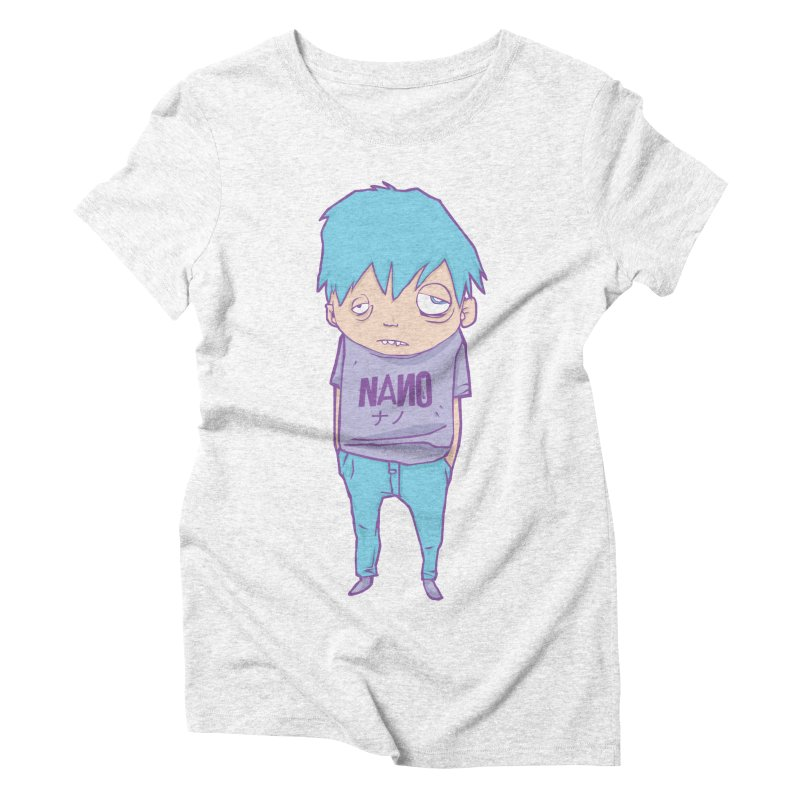 unimpressed and unbothered Women's Triblend T-shirt by [NANO]'s Tienda