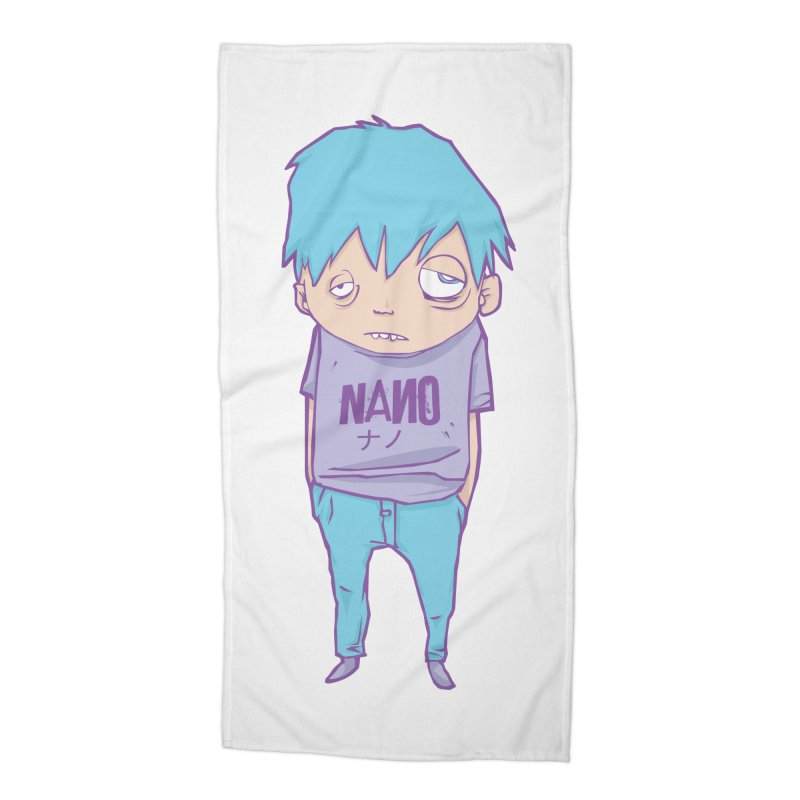 unimpressed and unbothered Accessories Beach Towel by [NANO]'s Tienda