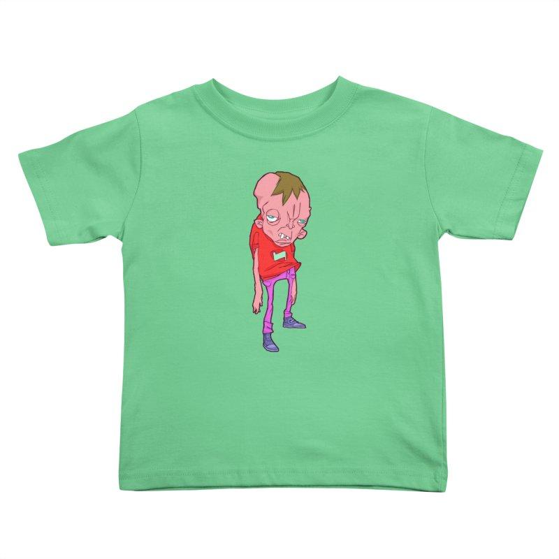 Screw Face Kids Toddler T-Shirt by [NANO]'s Tienda