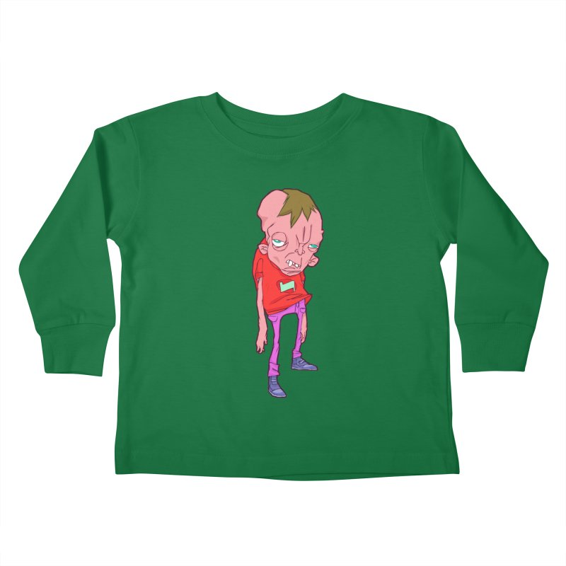 Screw Face Kids Toddler Longsleeve T-Shirt by [NANO]'s Tienda