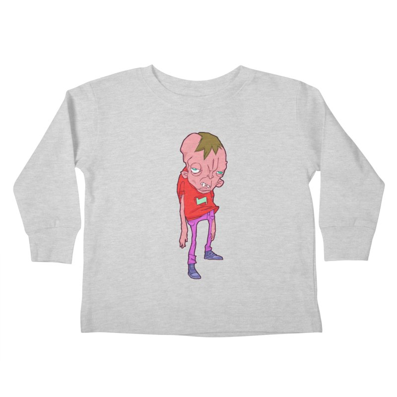 Screw Face Kids Toddler Longsleeve T-Shirt by [NANO]'s Tienda