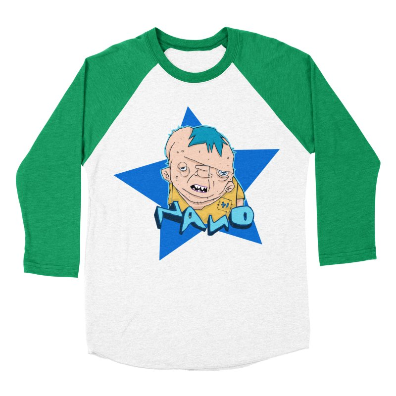 fUGLY supaSTAR Men's Baseball Triblend T-Shirt by [NANO]'s Tienda