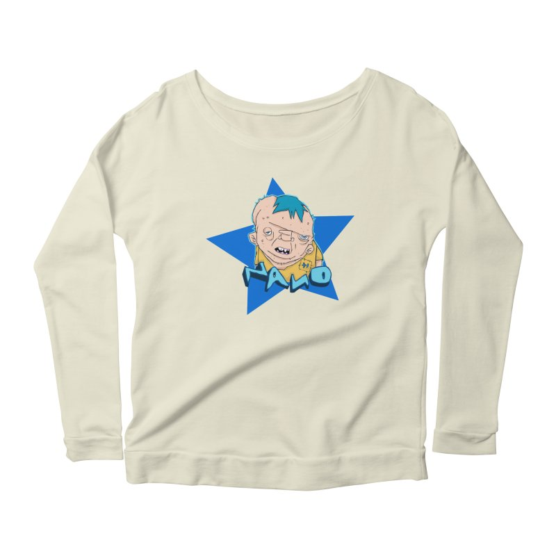 fUGLY supaSTAR Women's Scoop Neck Longsleeve T-Shirt by [NANO]'s Tienda