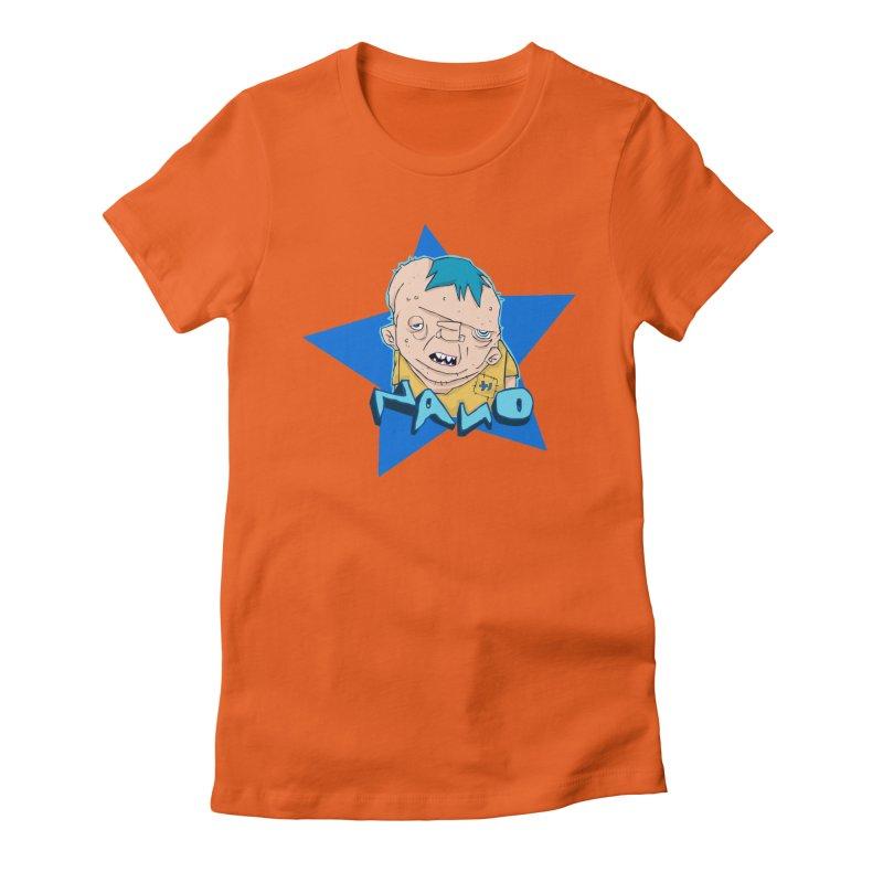 fUGLY supaSTAR Women's Fitted T-Shirt by [NANO]'s Tienda