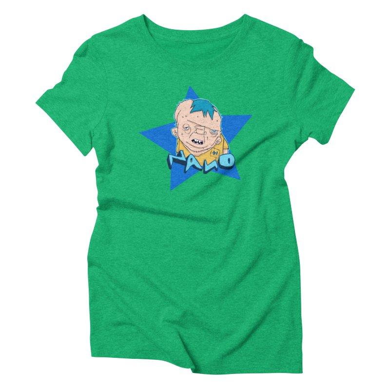 fUGLY supaSTAR Women's Triblend T-shirt by [NANO]'s Tienda