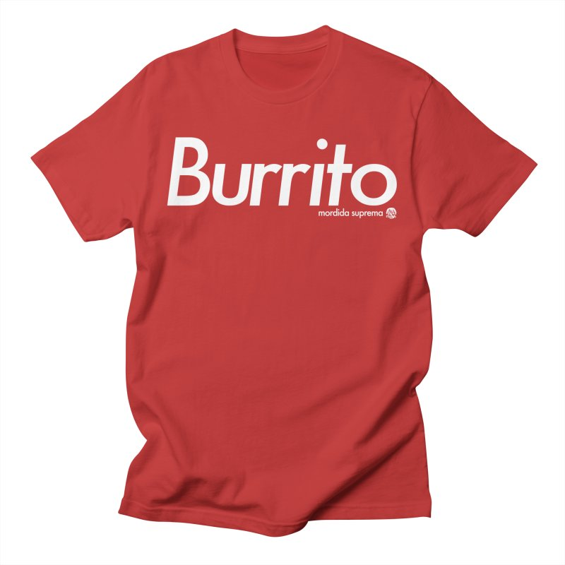 Burrito Men's Regular T-Shirt by [NANO]'s Tienda