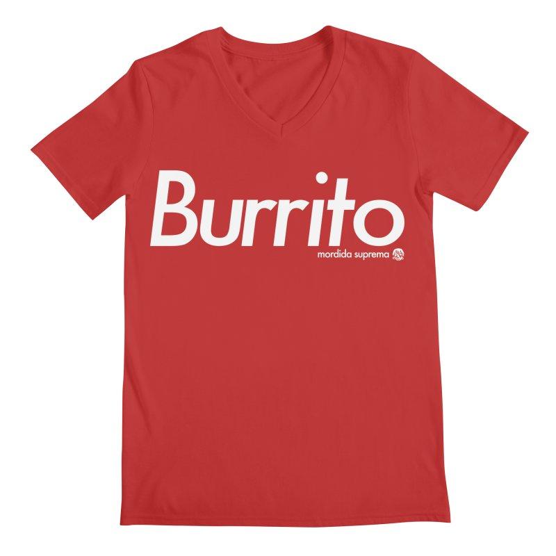 Burrito Men's V-Neck by [NANO]'s Tienda