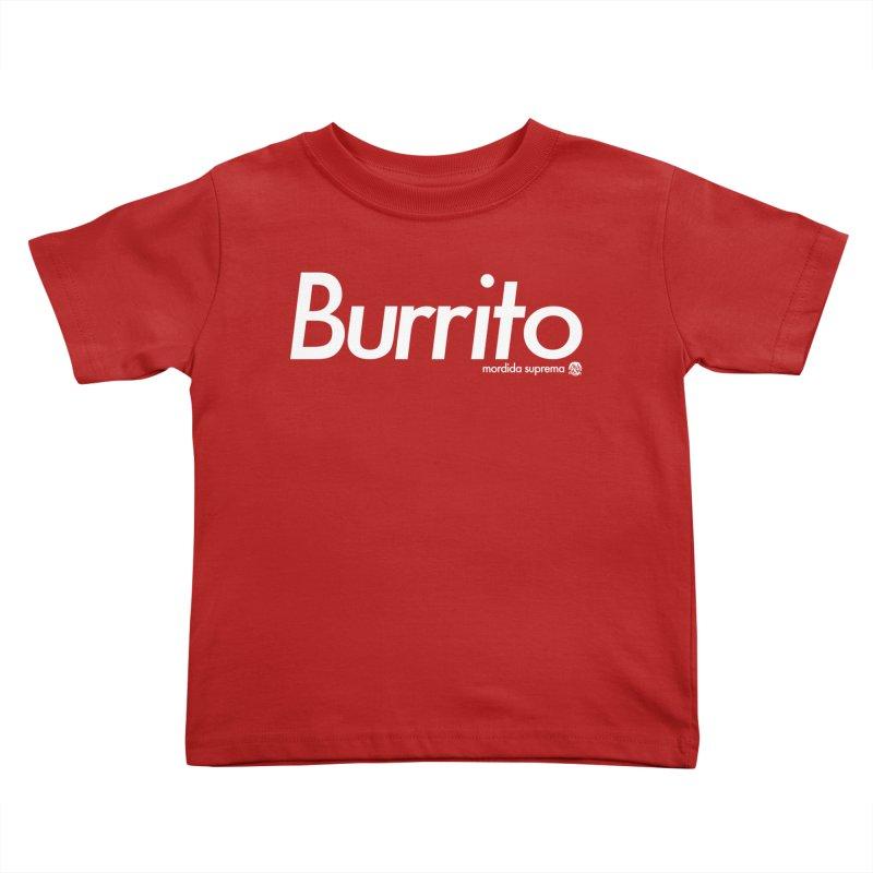 Burrito Kids Toddler T-Shirt by [NANO]'s Tienda