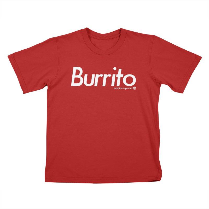 Burrito Kids T-shirt by [NANO]'s Tienda