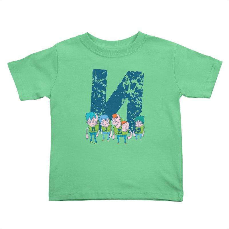 Idyut Sqwad Kids Toddler T-Shirt by [NANO]'s Tienda